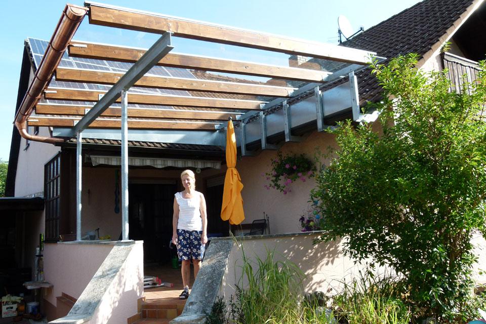 TerrassenUberdachung Holz Hildesheim ~ Holzkonstruktion Als Ueberdachung ~ Terrassenüberdachung seite